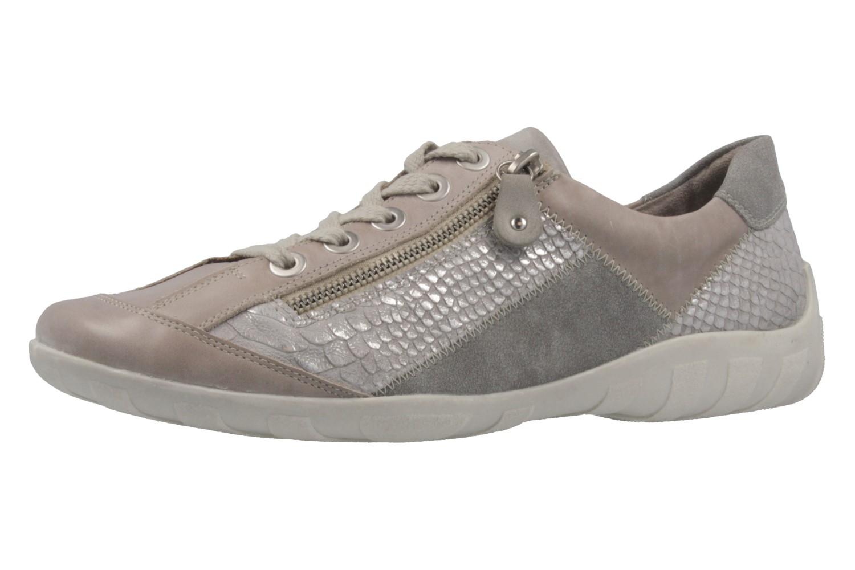 REMONTE - Damen Halbschuhe - Grau Schuhe in Übergrößen – Bild 1
