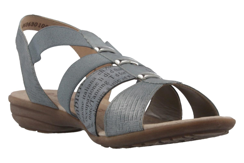 Remonte Sandalen in Übergrößen Blau R3644-10 große Damenschuhe – Bild 5