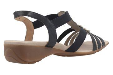 REMONTE - Damen Sandalen - Blau Schuhe in Übergrößen – Bild 3