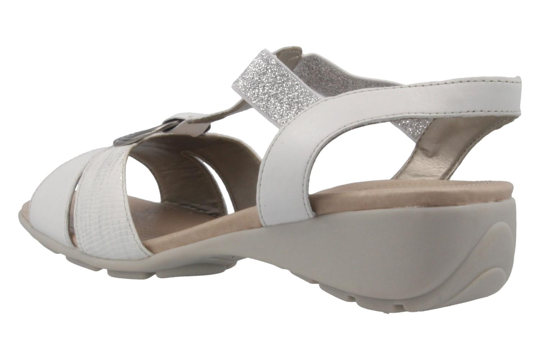 REMONTE - Damen Sandalen - Weiß Schuhe in Übergrößen – Bild 2