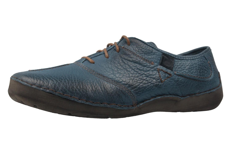 JOSEF SEIBEL - Damen Halbschuhe - Fallon - Blau Schuhe in Übergrößen – Bild 1