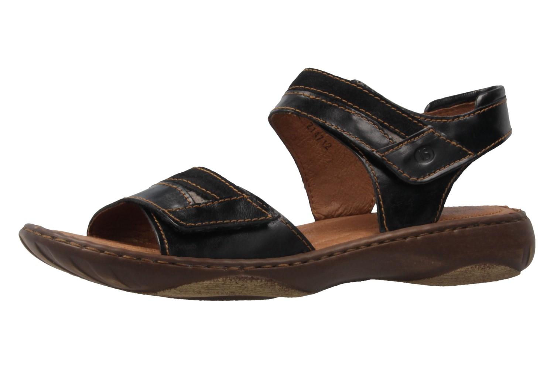 JOSEF SEIBEL - Damen Sandalen - Debra 19 - Schwarz Schuhe in Übergrößen – Bild 1