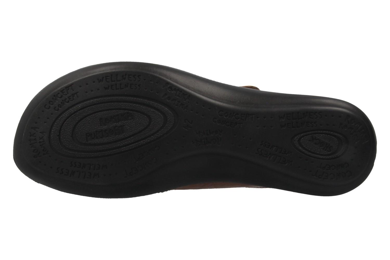 ROMIKA - Damen Pantoletten - Ibiza 64 - Braun Schuhe in Übergrößen – Bild 6