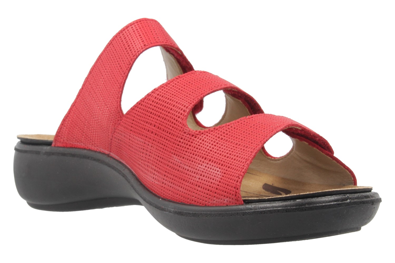 ROMIKA - Damen Pantoletten - Ibiza 72 - Rot Schuhe in Übergrößen – Bild 5