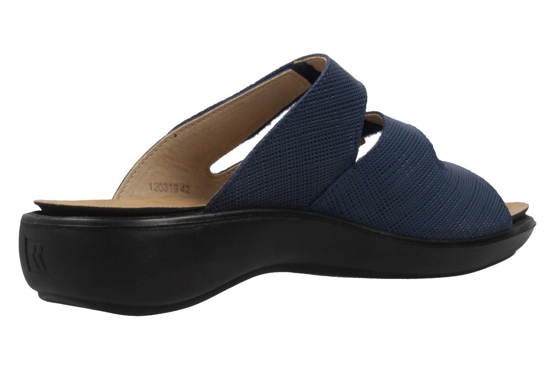 ROMIKA - Damen Pantoletten - Ibiza 72 - Blau Schuhe in Übergrößen – Bild 3