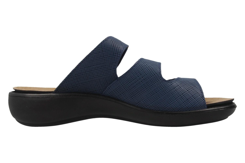 ROMIKA - Damen Pantoletten - Ibiza 72 - Blau Schuhe in Übergrößen – Bild 4