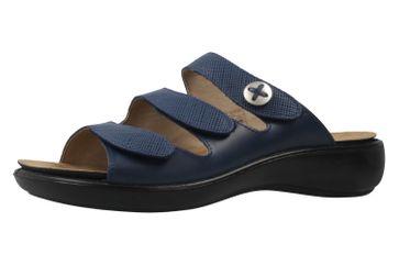 ROMIKA - Damen Pantoletten - Ibiza 72 - Blau Schuhe in Übergrößen – Bild 1