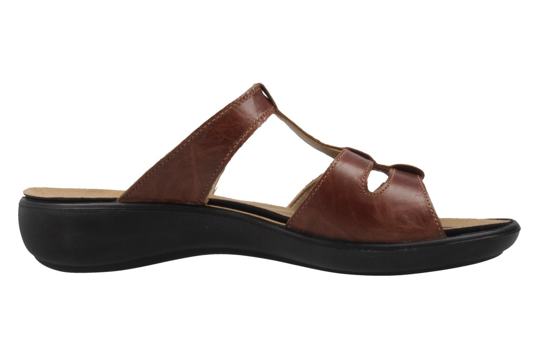 ROMIKA - Damen Pantoletten - Ibiza 75 - Braun Schuhe in Übergrößen – Bild 4