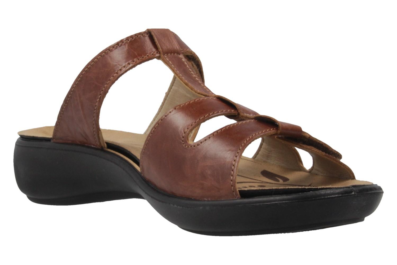 ROMIKA - Damen Pantoletten - Ibiza 75 - Braun Schuhe in Übergrößen – Bild 5