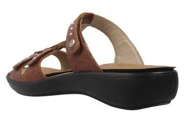 ROMIKA - Damen Pantoletten - Ibiza 75 - Braun Schuhe in Übergrößen – Bild 2