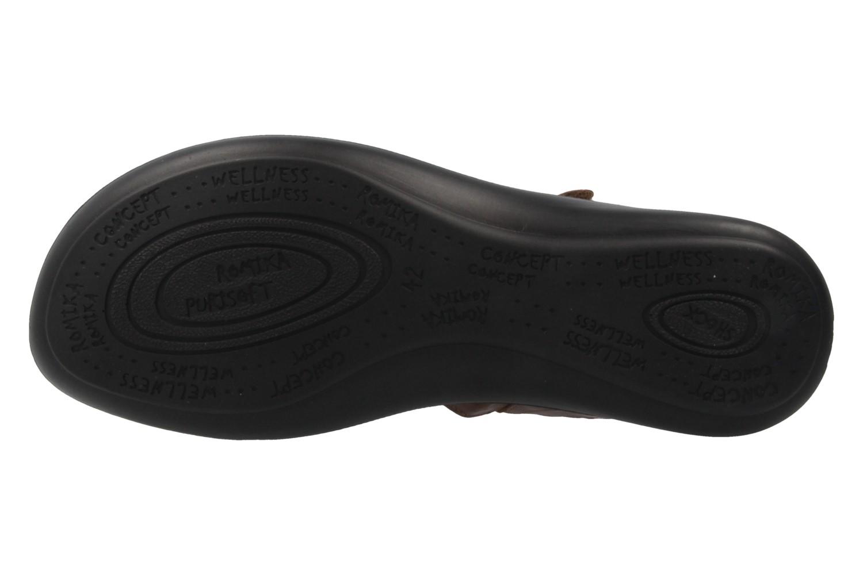 Romika Ibiza 70 Sandalen in Übergrößen Braun 16070 24 320 große Damenschuhe – Bild 6