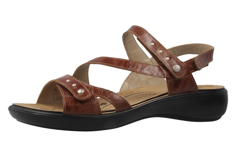Romika Ibiza 70 Sandalen in Übergrößen Braun 16070 24 320 große Damenschuhe – Bild 1