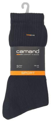 camano Socken in Übergrößen Schwarz 5943 05 große Unisexschuhe – Bild 1