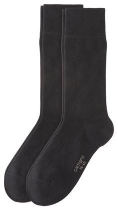 camano Socken in Übergrößen Schwarz 4600 05 große Unisexschuhe – Bild 1