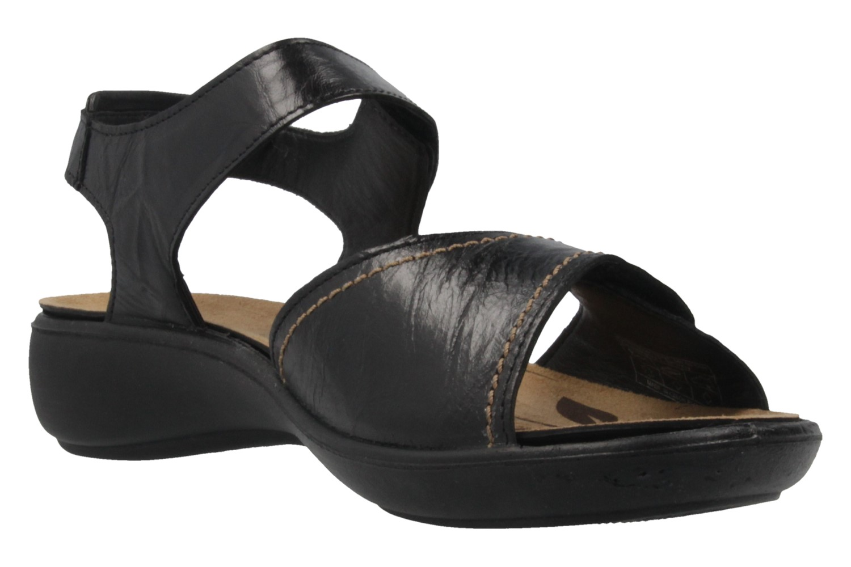 Romika Ibiza 73 Sandalen in Übergrößen Schwarz 16073 24 100 große Damenschuhe – Bild 5