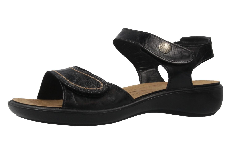 Romika Ibiza 73 Sandalen in Übergrößen Schwarz 16073 24 100 große Damenschuhe – Bild 1