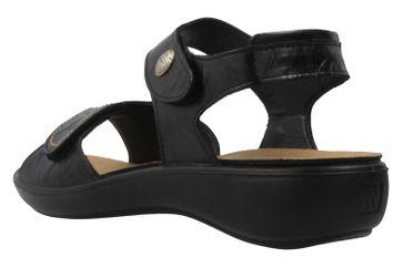 Romika Sandalen in Übergrößen Schwarz 16073 24 100 große Damenschuhe – Bild 2