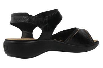 Romika Sandalen in Übergrößen Schwarz 16073 24 100 große Damenschuhe – Bild 3