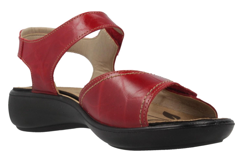 ROMIKA - Damen Sandalen - Ibiza 73 - Rot Schuhe in Übergrößen – Bild 5