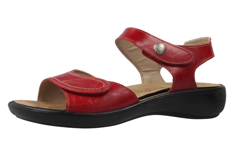 Romika Sandalen in Übergrößen Rot 16073 24 400 große Damenschuhe – Bild 1