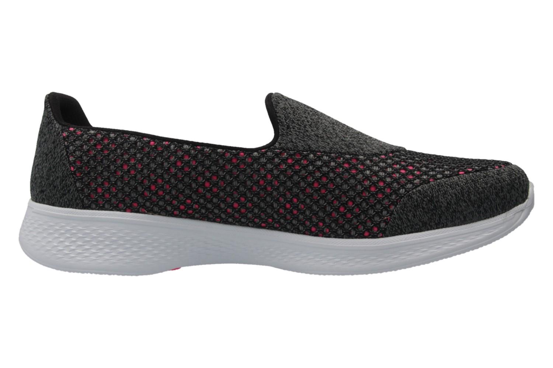 SKECHERS - Damen Slipper - GO WALK 4  KINDLE - Schwarz Schuhe in Übergrößen – Bild 4