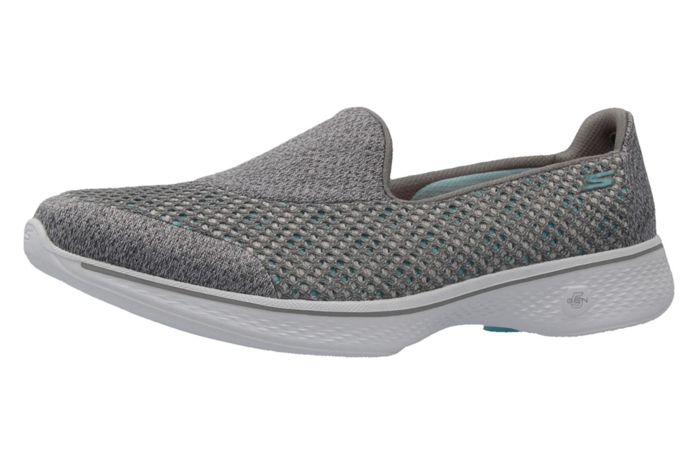 Skechers Slipper in Übergrößen Grau 14145/GRY große Damenschuhe – Bild 1