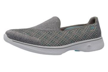 Skechers Slipper in Übergrößen Grau 14145/GRY große Damenschuhe
