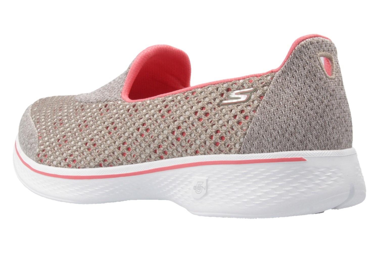 SKECHERS - Damen Slipper - GO WALK 4  KINDLE - Taupe Schuhe in Übergrößen – Bild 2