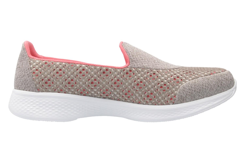 SKECHERS - Damen Slipper - GO WALK 4  KINDLE - Taupe Schuhe in Übergrößen – Bild 4