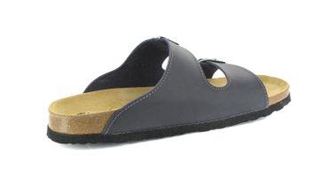 BIOPED - Hausschuhe Pantoletten Pantoletten - Kreta - Dunkelblau Schuhe Günstig – Bild 4