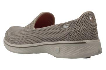 SKECHERS - Damen Slipper - GO WALK 4  PROPEL - Taupe Schuhe in Übergrößen – Bild 2