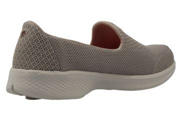 SKECHERS - Damen Slipper - GO WALK 4  PROPEL - Taupe Schuhe in Übergrößen – Bild 3