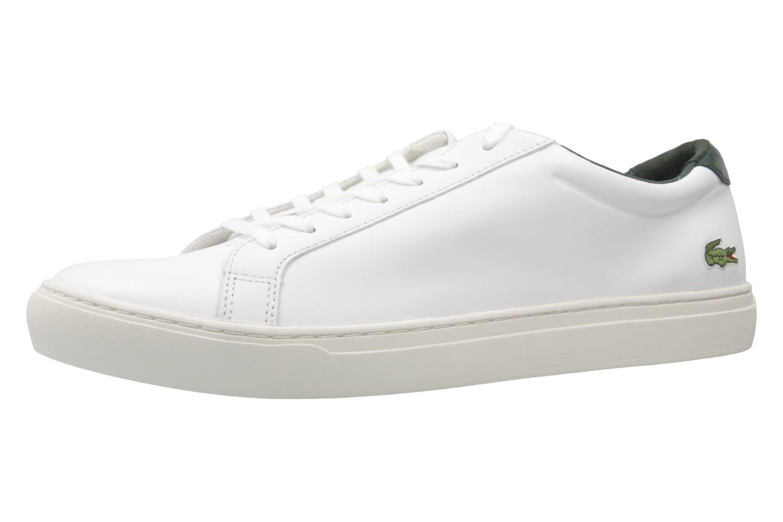 Lacoste Sneaker in Übergrößen Weiß 7-33CAM10021R5 große Herrenschuhe – Bild 1