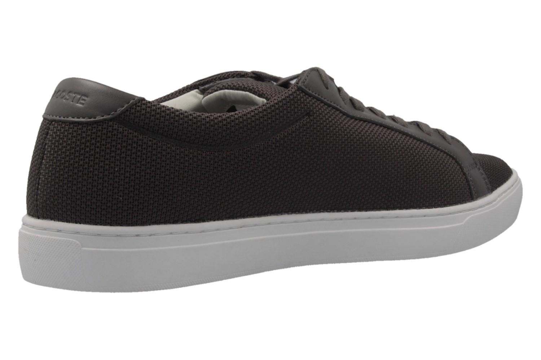 Lacoste Sneaker in Übergrößen Grau 7-33CAM1088248 große Herrenschuhe – Bild 3