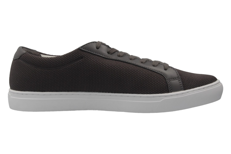 Lacoste Sneaker in Übergrößen Grau 7-33CAM1088248 große Herrenschuhe – Bild 4