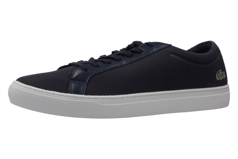 Lacoste Sneaker in Übergrößen Blau 7-33CAM1003003 große Herrenschuhe – Bild 1