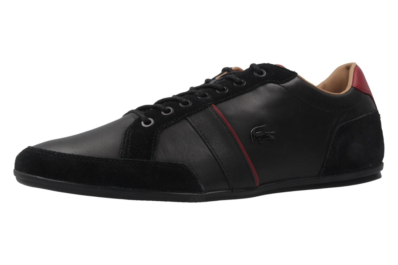 LACOSTE - Alisos 117 1 CAM - Herren Sneaker - Schwarz Schuhe in Übergrößen – Bild 1