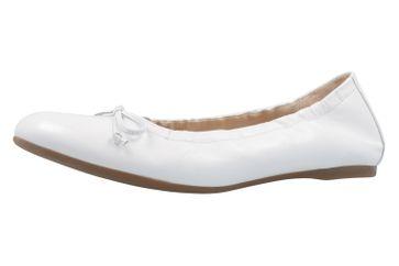 Gabor Ballerinas in Übergrößen Weiß 64.120.21 große Damenschuhe