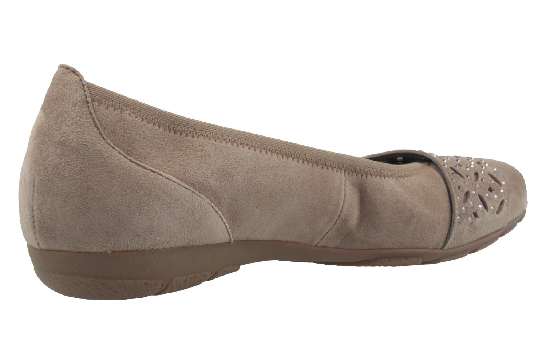 GABOR - Damen Ballerinas - Grau Schuhe in Übergrößen – Bild 3