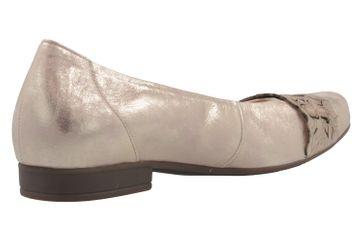 GABOR comfort - Damen Ballerinas - Rosa Metallic Schuhe in Übergrößen – Bild 3
