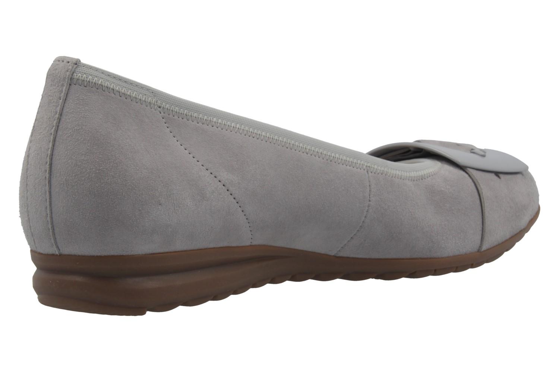 GABOR comfort - Damen Ballerinas - Grau Schuhe in Übergrößen – Bild 3