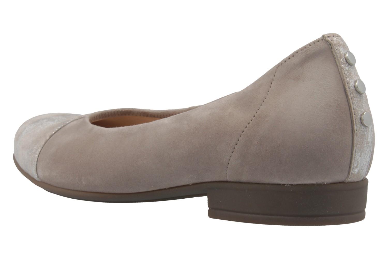 GABOR comfort - Damen Ballerinas - Grau Schuhe in Übergrößen – Bild 2