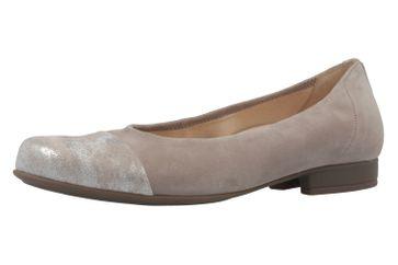 GABOR comfort - Damen Ballerinas - Grau Schuhe in Übergrößen – Bild 1