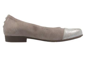 GABOR comfort - Damen Ballerinas - Grau Schuhe in Übergrößen – Bild 4