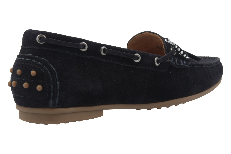GABOR - Damen Mokassin - Blau Schuhe in Übergrößen – Bild 3