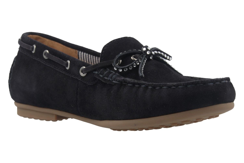 GABOR - Damen Mokassin - Blau Schuhe in Übergrößen – Bild 5