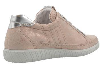 GABOR comfort - Damen Halbschuhe - Rosa Metallic Schuhe in Übergrößen – Bild 3