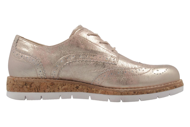 GABOR comfort - Damen Halbschuhe - Rosa Metallic Schuhe in Übergrößen – Bild 4