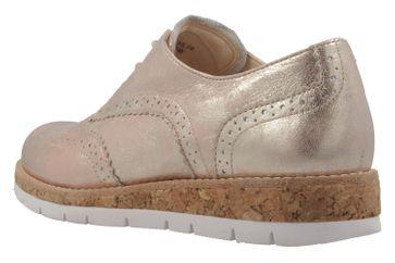 GABOR comfort - Damen Halbschuhe - Rosa Metallic Schuhe in Übergrößen – Bild 2