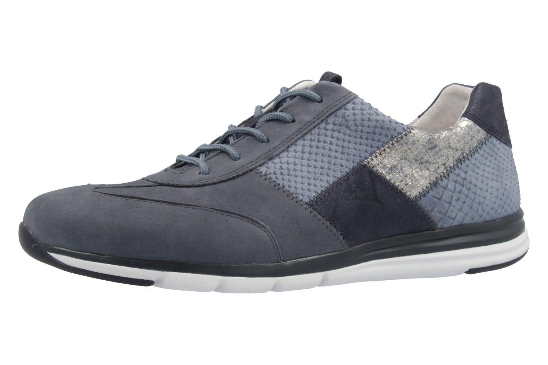 gabor comfort damen sneaker blau schuhe in bergr en. Black Bedroom Furniture Sets. Home Design Ideas